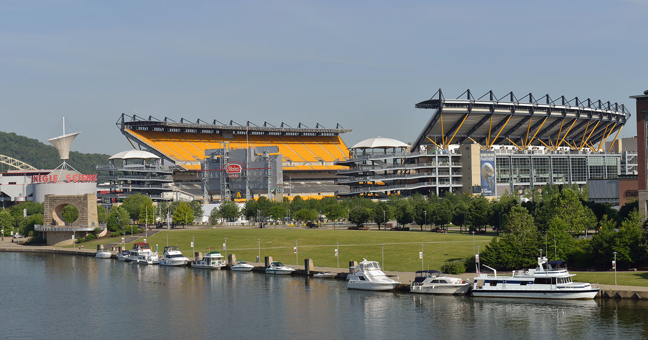View of the interior of Heinz Field