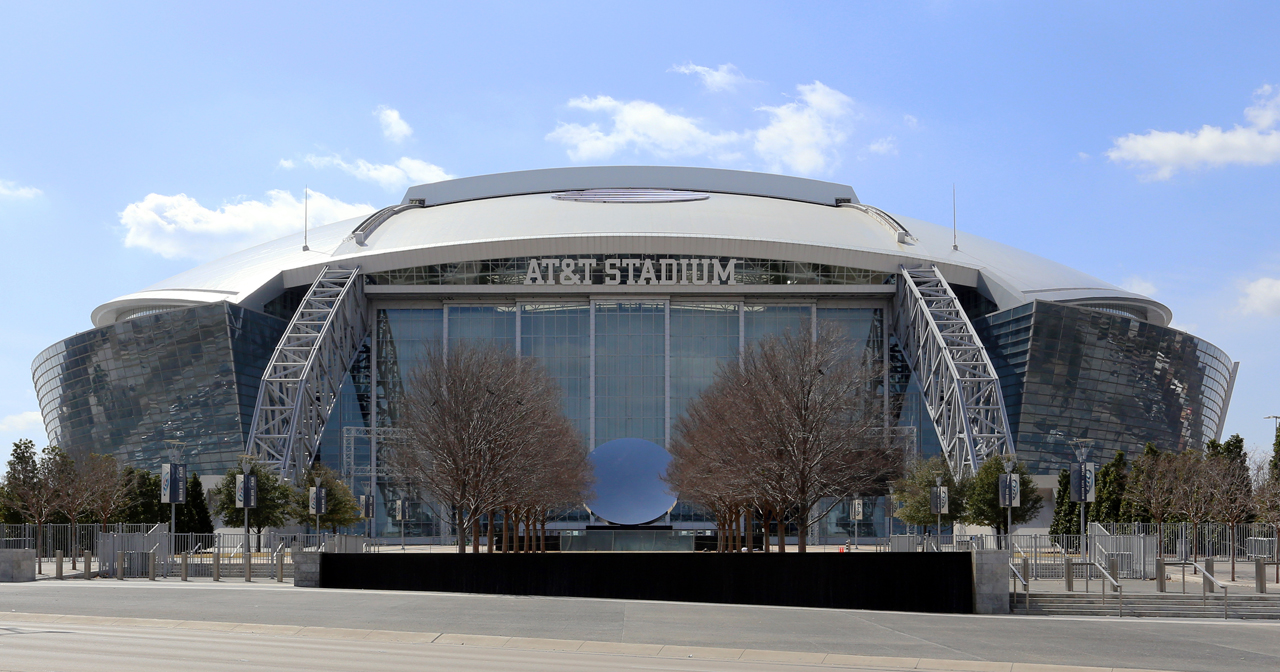 Inside look of AT&T Stadium after getting free guest list