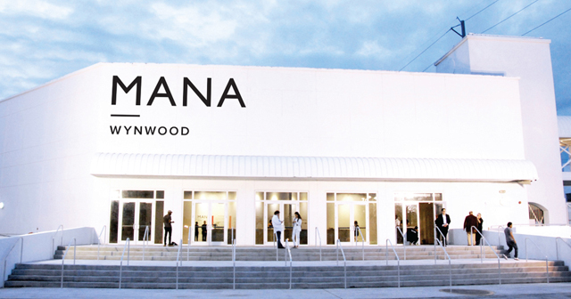 Inside look of Mana Wynwood with bottle service