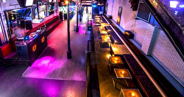 View of the interior of Otto Zutz after getting free guest list