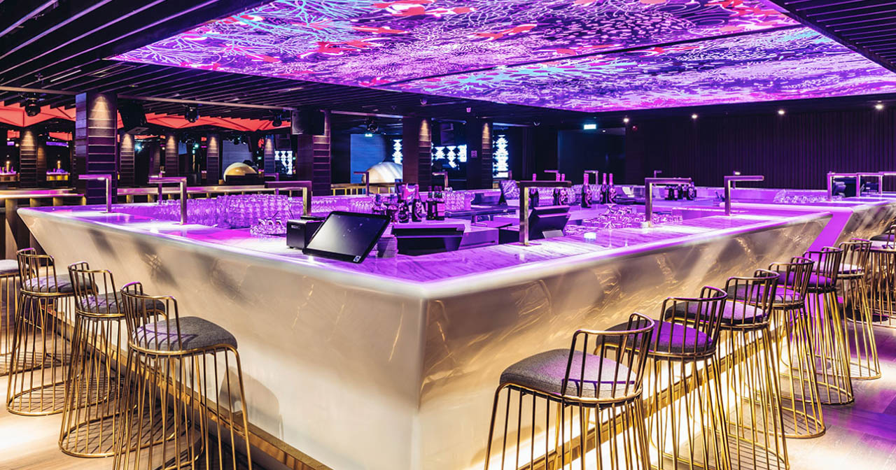 Inside look of Zouk (Capital) with bottle service