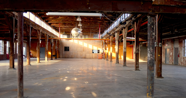 Inside look of Knockdown Center after getting free guest list