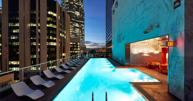 Rooftop at The Standard