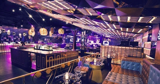 View of the interior of Bling Bling after getting free guest list