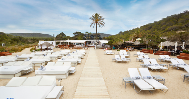 View of the interior of Blue Marlin Ibiza