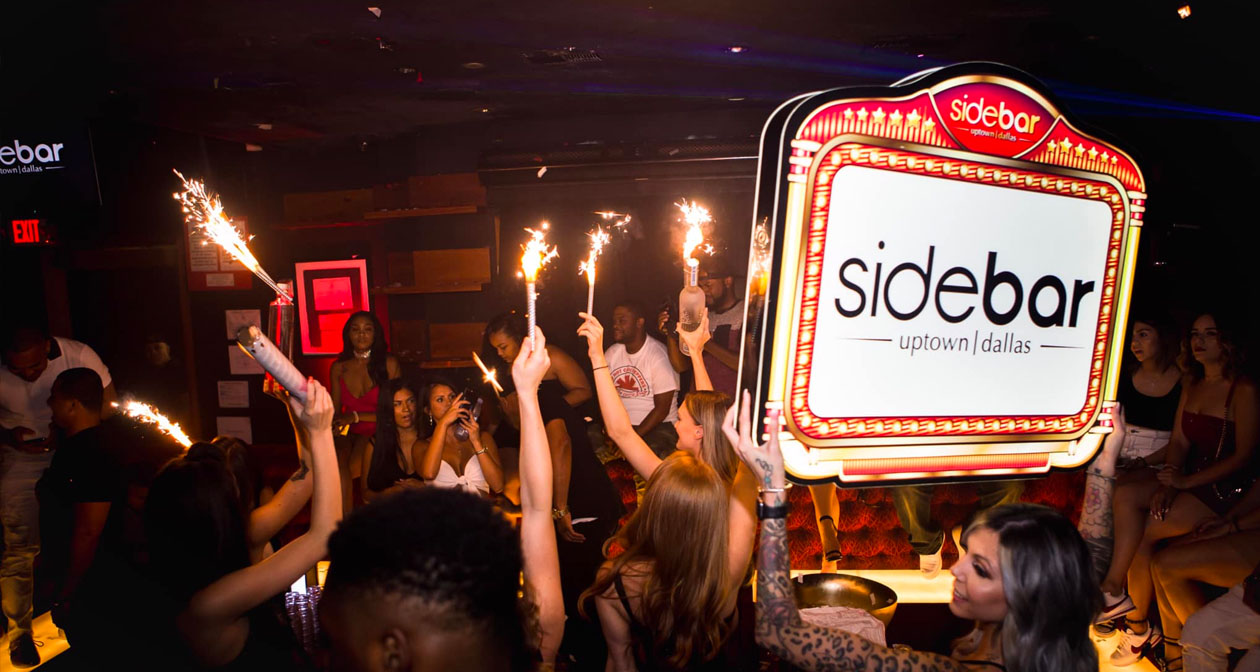 Sidebar offers guest list on certain nights
