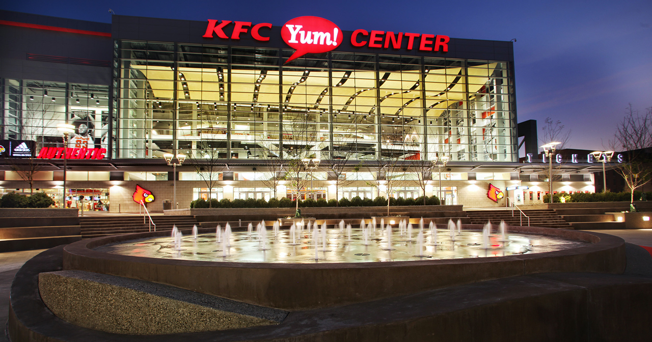 Inside look of KFC Yum Center after getting free guest list