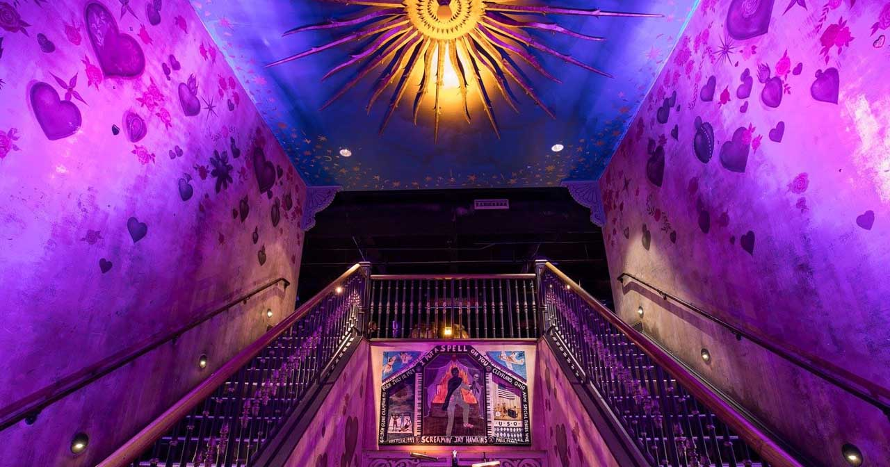 View of the interior of House of Blues after getting free guest list
