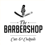 The Barbershop Cuts & Cocktails logo