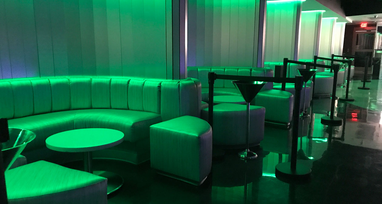Inside look of Escape Lounge after getting free guest list