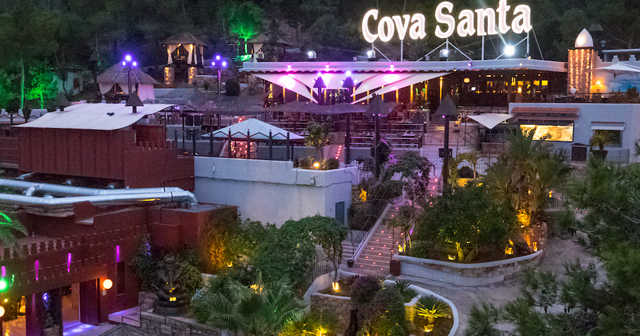 Inside look of Cova Santa with bottle service