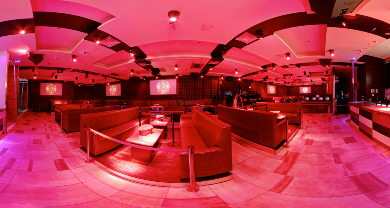 Inside look of Josephine Lounge with bottle service