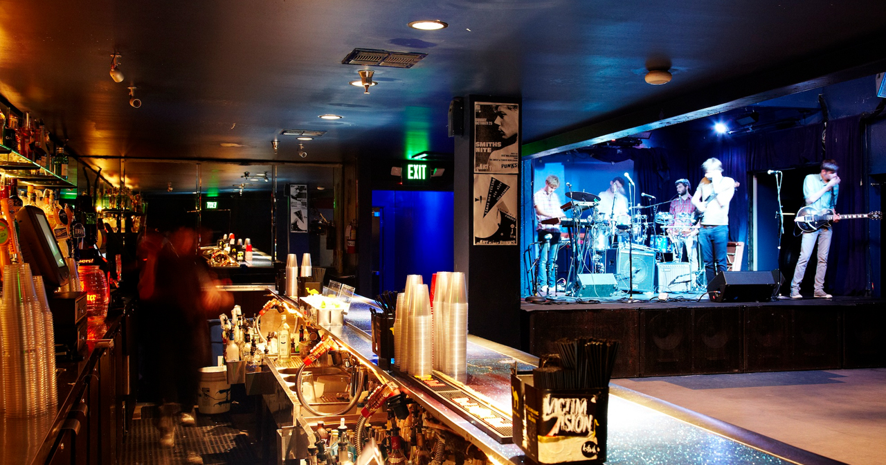 View of the interior of The Echo after getting free guest list