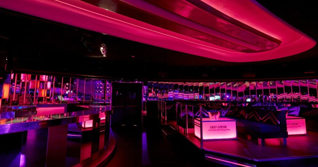 Inside look of Teatro Barcelo with bottle service