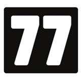 Club 77 logo