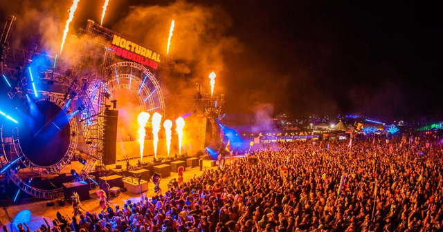 View of the interior of Nocturnal Wonderland