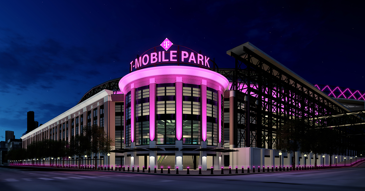 View of the interior of T-Mobile Park