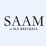 SAAM Lounge at SLS Brickell logo
