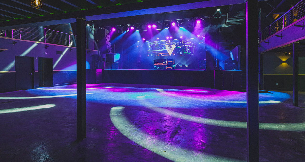 Inside look of The Vanguard with bottle service