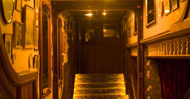 View of the interior of The Box Soho after getting free guest list
