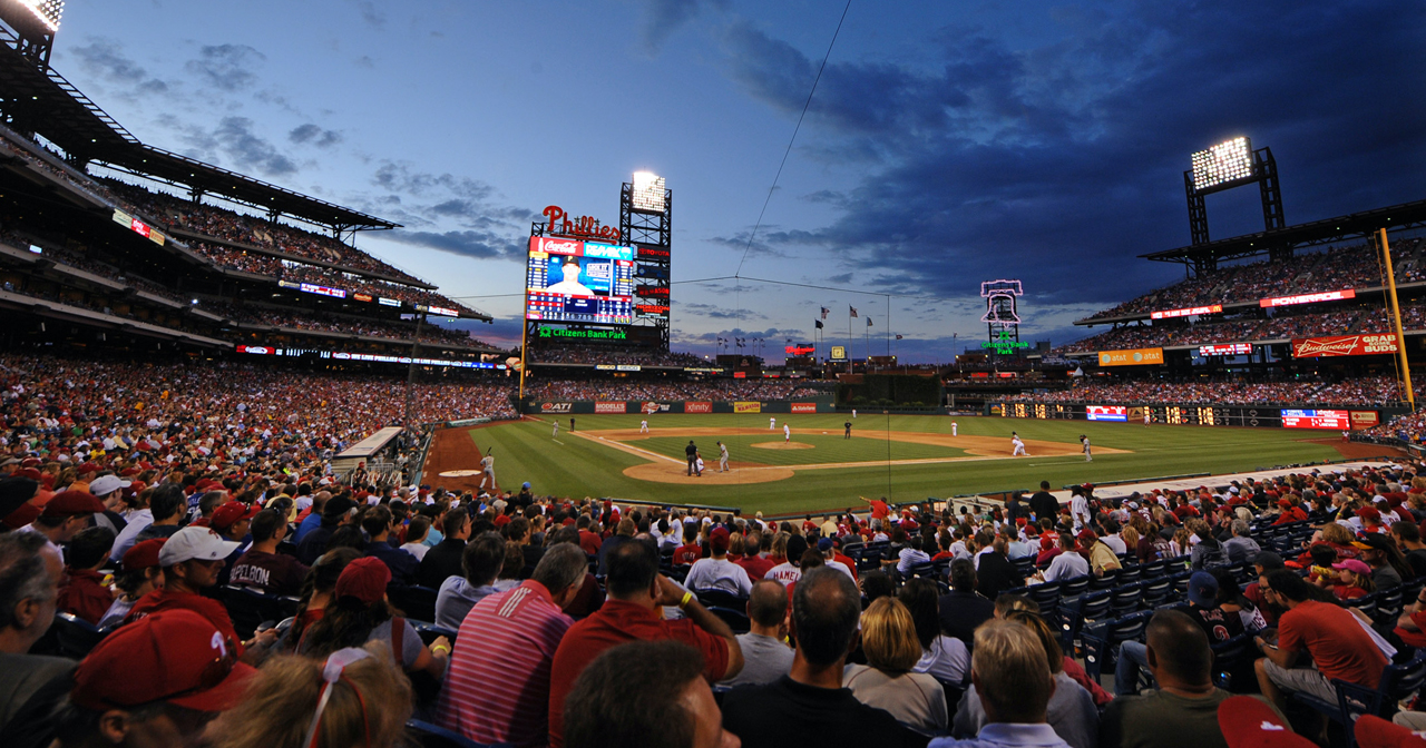 Inside look of Citizens Bank Park after getting free guest list
