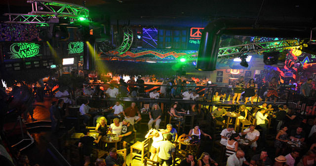 Inside look of Cabo Wabo Cantina after buying tickets