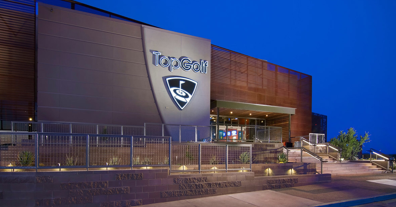 Inside look of Topgolf after getting free guest list