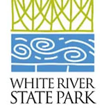 Amphitheater at White River State Park logo