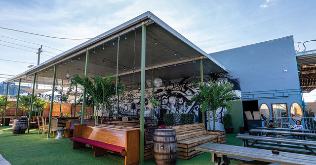 Inside look of Barter Wynwood (Garden) after getting free guest list