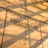 Fisher Pavilion at Seattle Center logo
