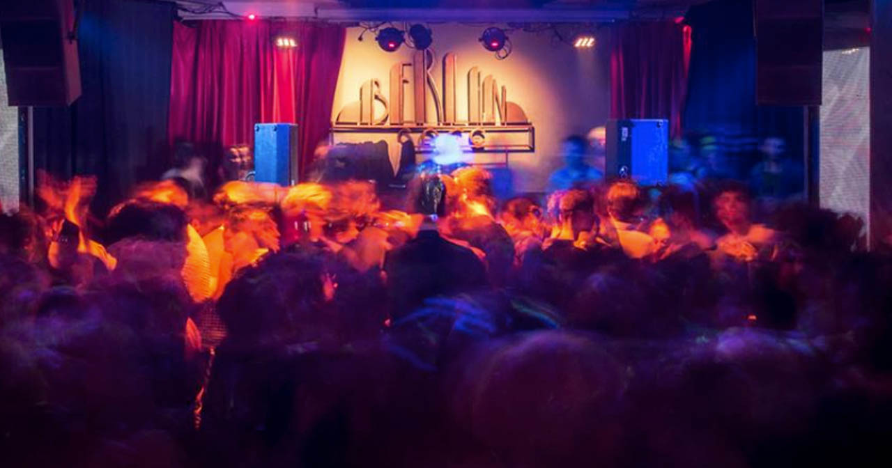 View of the interior of berlinClub after getting free guest list