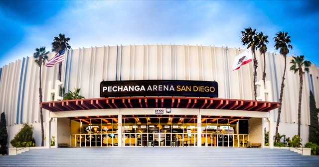 Inside look of Pechanga Arena after getting free guest list