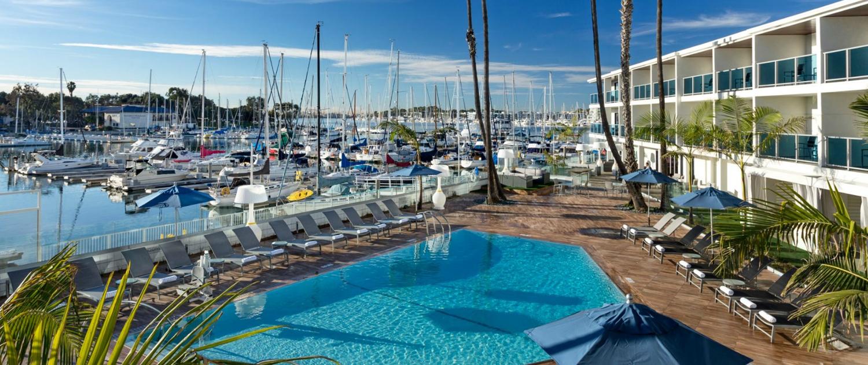 Marina Del Rey Hotel Pool