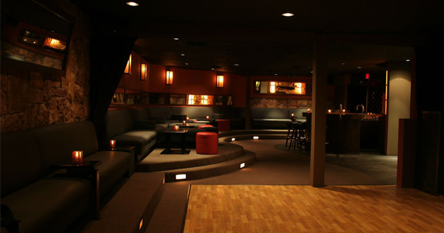 View of the interior of Skinny's Lounge