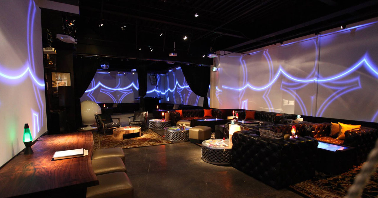 Inside look of 251 Club with bottle service