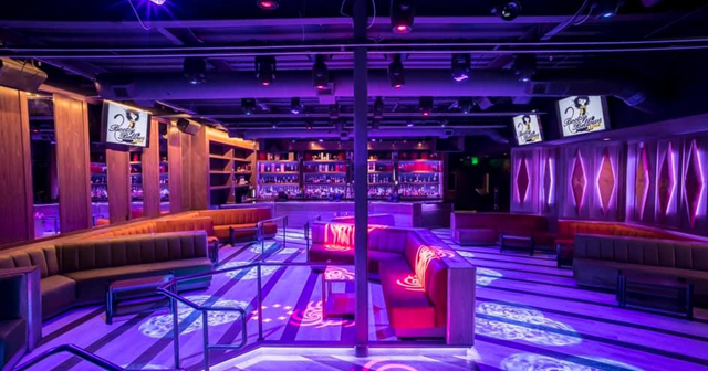 Inside look of Bootsy Bellows with bottle service