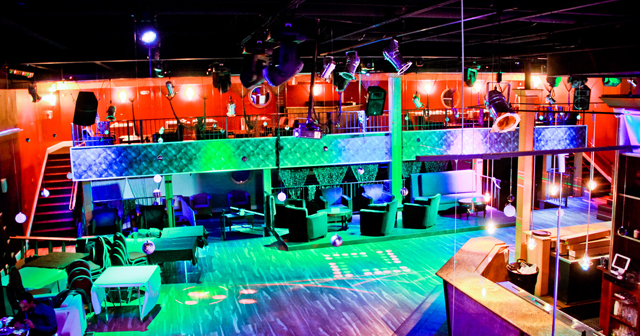 Inside look of Club Elevate with bottle service