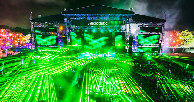 Inside look of Audiotistic with bottle service