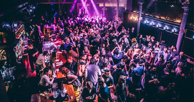 Inside look of No Vacancy Lounge after getting free guest list