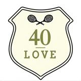 40 Love logo