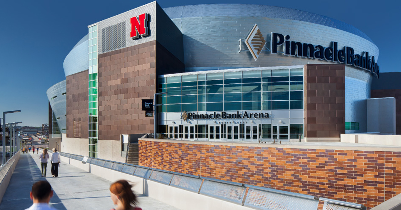 Inside look of Pinnacle Bank Arena after buying tickets
