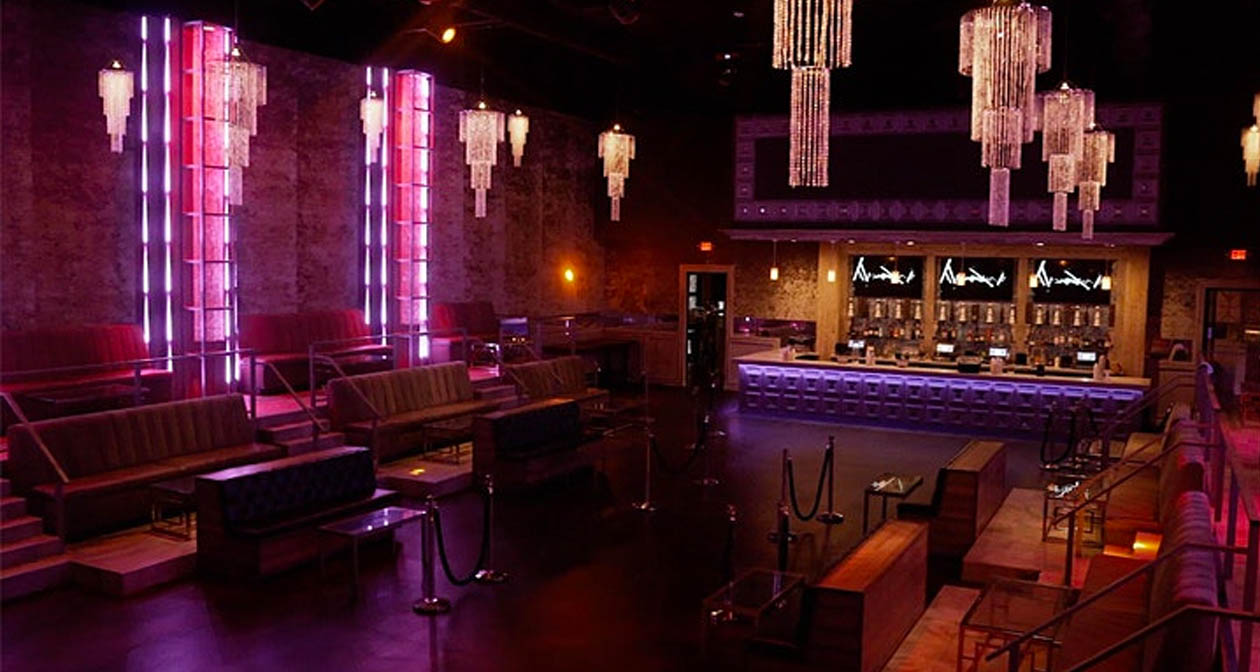 View of the interior of Velvet Room after buying tickets