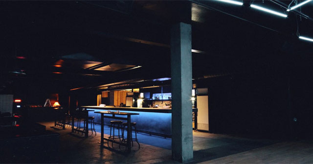 View of the interior of Newspeak after getting free guest list