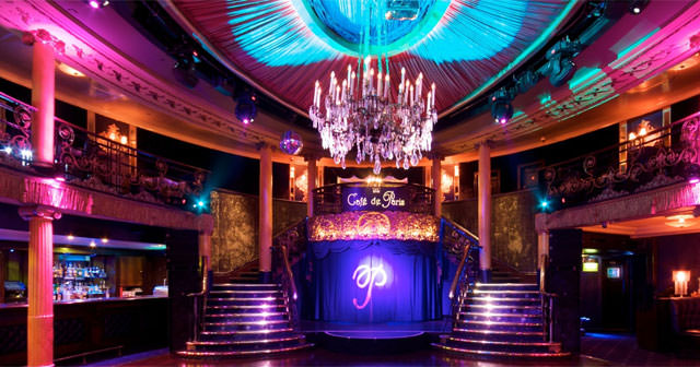 Inside look of Cafe de Paris after getting free guest list