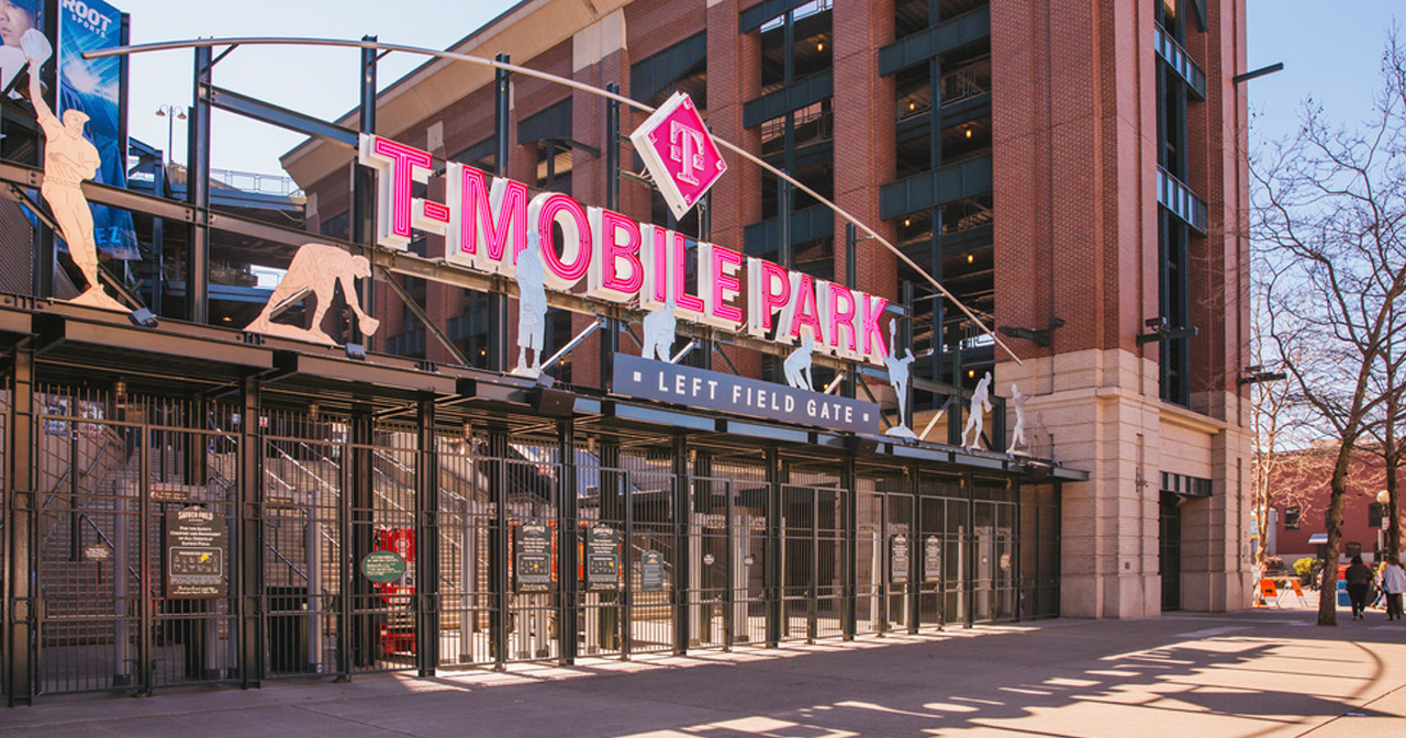 Inside look of T-Mobile Park with bottle service