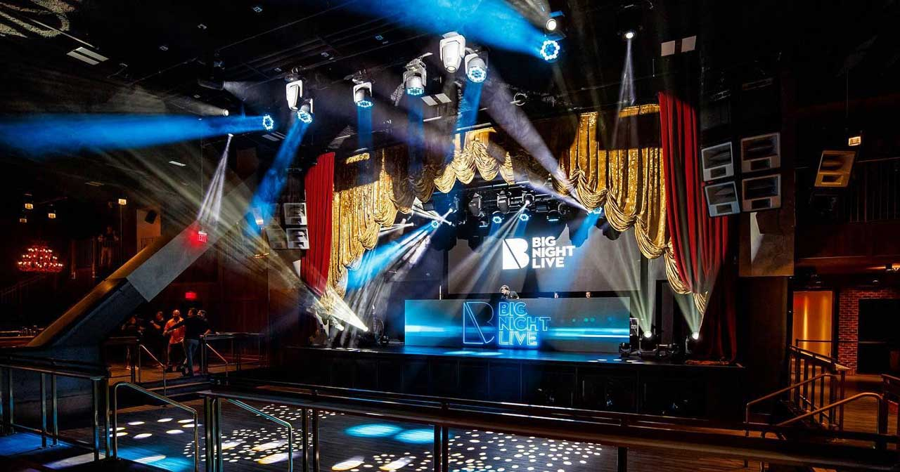 Inside look of Big Night Live after getting free guest list