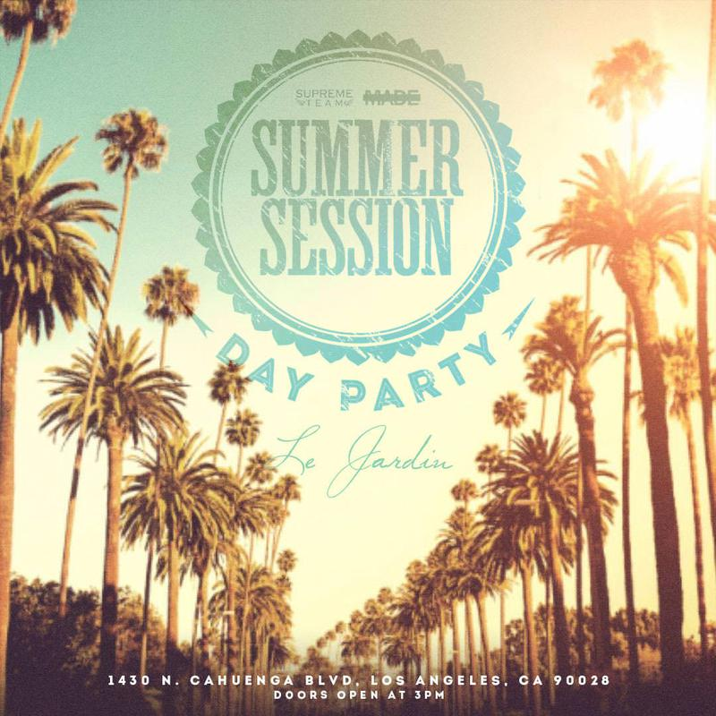 summer session day party at le jardin day party saturday apr 21