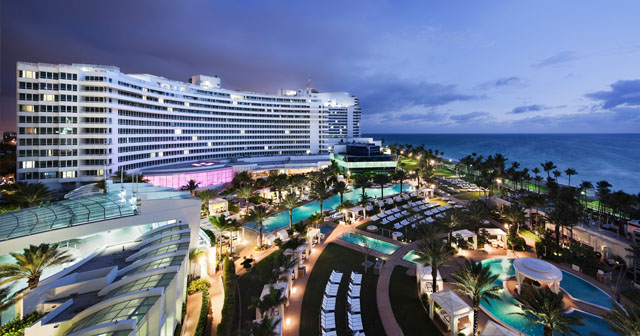 Inside look of Fontainebleau Miami after getting free guest list