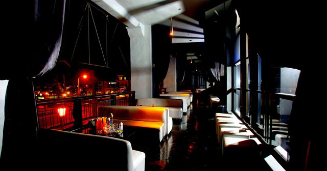 View of the interior of Sutra after getting free guest list
