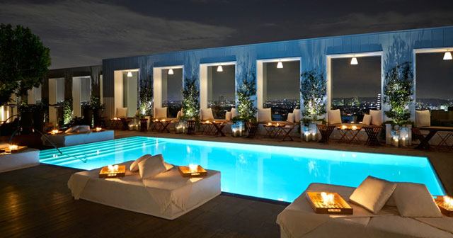 Skybar at Mondrian